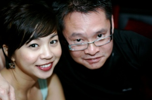 Sharon and Daniel (Lim) - Thanks for coming and having drinks with me....very mercifully...