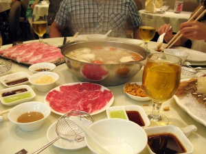 First! Spring Autumn Hot Pot restaurant is our fav superbest hotpot restaurant in HK. A must try..