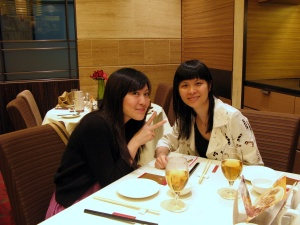 catch up dim sum at Lei garden Wan Chai with my mate LinLin