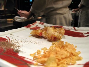 Teppanyaki Lobster....what? thats' all from one whole lobster?