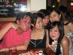 Jess, Laura, Jules, Me)