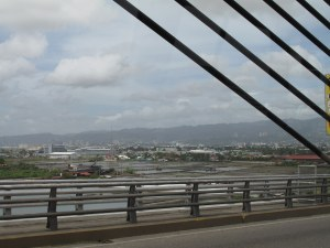 Scenic ride - the view from the Mandaue-Mactan bridge on the way into town