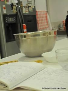 The age old 'Mum's' recipe book - still top secret!