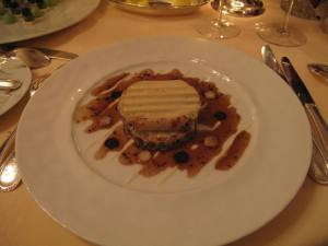 Macaroni stuffed with truffles and mushroom bits. Delicious! excellent.