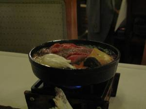 Not so complete withoutn my sukiyaki, right? one of the best I have had.