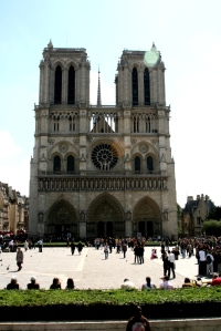 The regal Cathedral Notre Dame