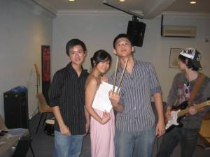 Caption: Chongs, Sarah and Vern