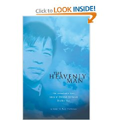 """Amazon books.com """"the heavenly man"""" Autobiography of Brother Yun by Paul Hattaway"""