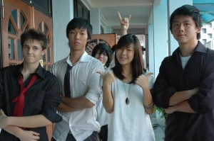 max,tze,sarah n jer - Vern at the back